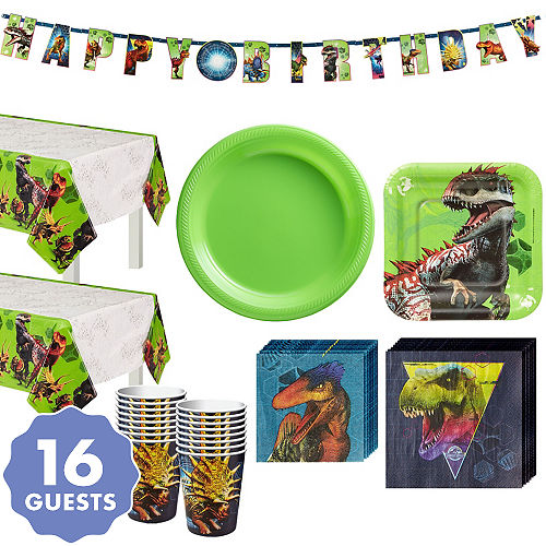 Jurassic World Tableware Kit For 16 Guests