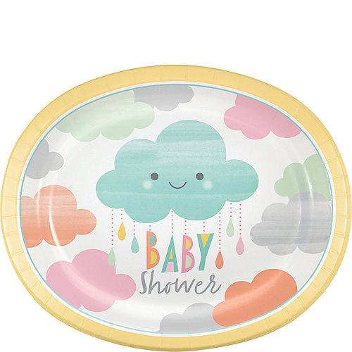 Happy Clouds Baby Shower Party Supplies Gender Neutral Baby Shower