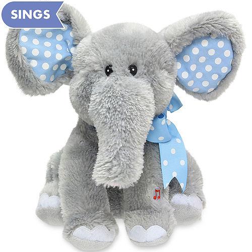 1b3841c42 Animated Elliot Cuddle Barn Elephant Plush