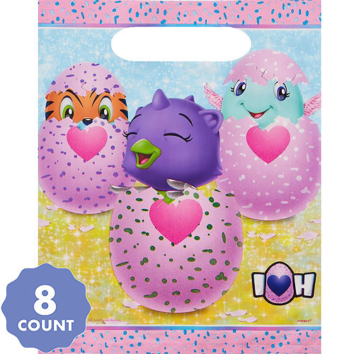 Hatchimals Favor Bags 8ct