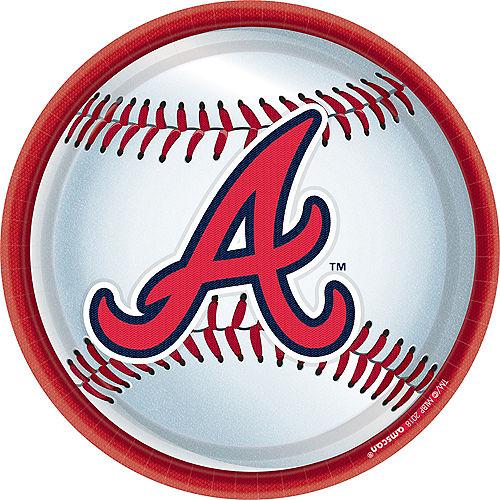 Atlanta Braves Lunch Plates 18ct