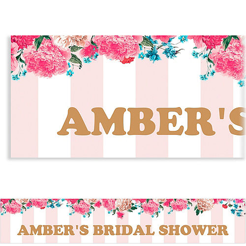 custom cheers to the bride banner