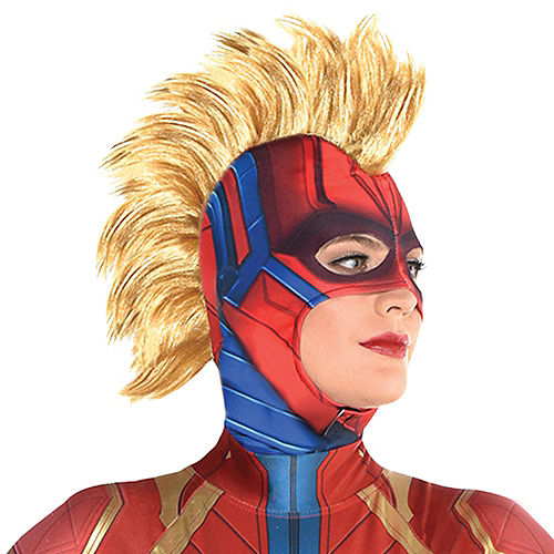 Adult Captain Marvel Mask - Captain Marvel 1e2aa9c630