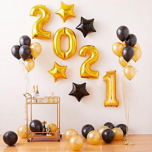 Gold 2019 Number Balloon Kit