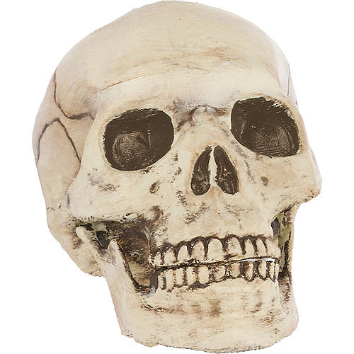 Jointed Mouth Skull Decoration