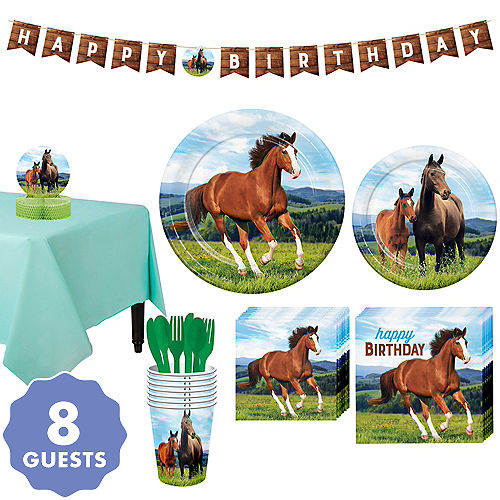 Horse & Pony Party Supplies & Birthday Decorations | Party City