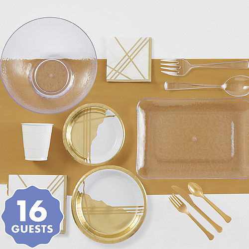 Gold Tableware - Gold Party Supplies | Party City Canada