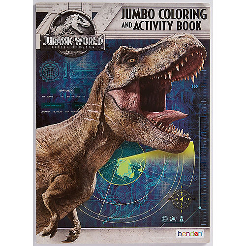 Jurassic World Coloring & Activity Book Party City