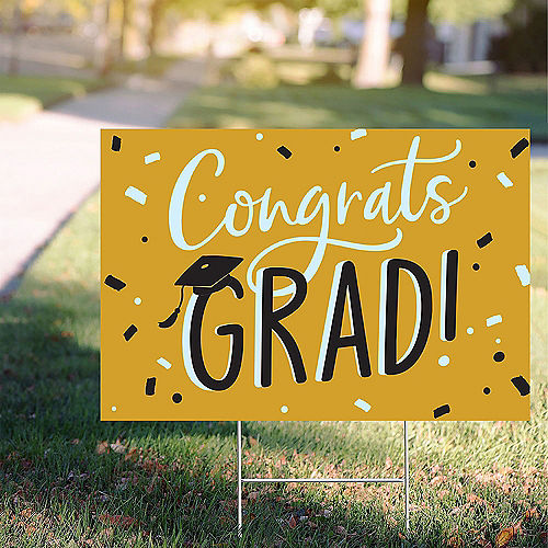 2020 Graduation Yard Signs Lawn Decorations Party City