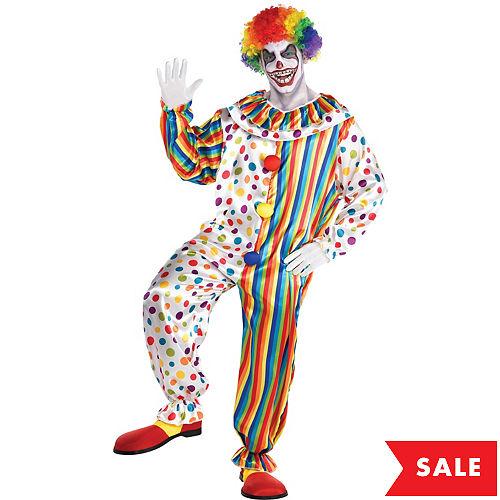Adult Clown Jumpsuit Costume