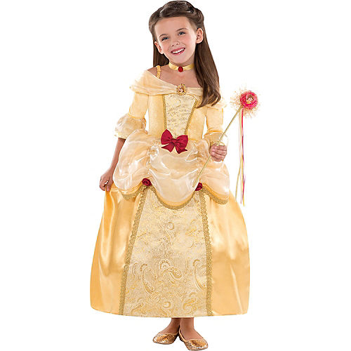 Disney belle costumes costume accessories party city girls belle costume supreme solutioingenieria Gallery