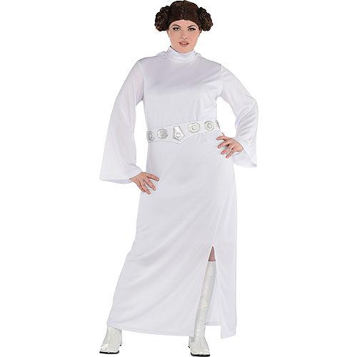 Adult Princess Leia Costume Plus Size - Star Wars