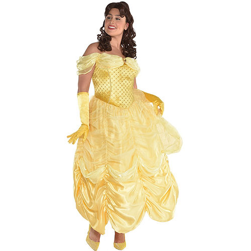 Womens Belle Costume Plus Size - Beauty and the Beast
