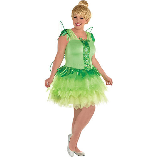 Womens Tinker Bell Costume Plus Size - Peter Pan