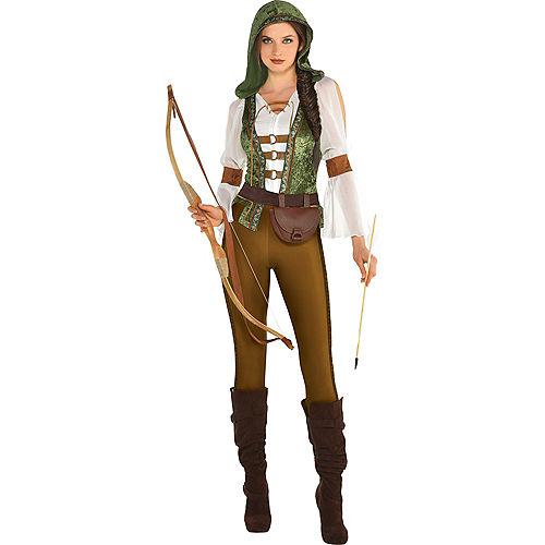 Womens Robin Hood Huntress Costume