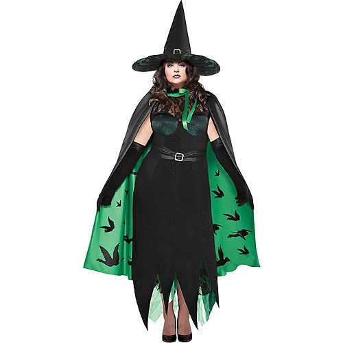 Womens Wicked Witch Costume Plus Size - The Wizard of Oz