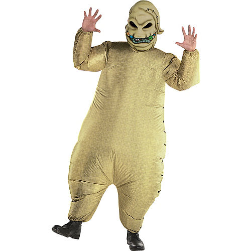 Adult Inflatable Oogie Boogie Costume - The Nightmare Before Christmas