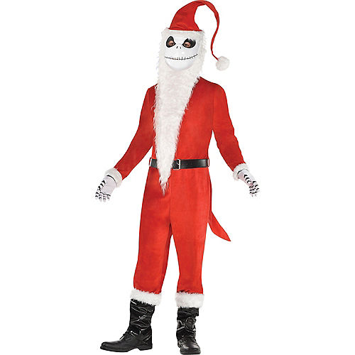 Mens Sandy Claws Costume - The Nightmare Before Christmas