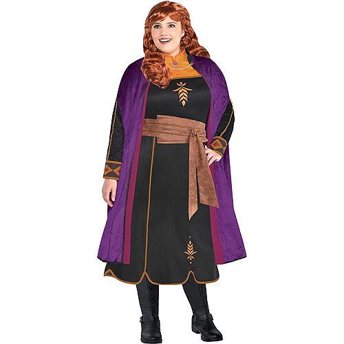 Adult Act 2 Anna Costume Plus Size - Frozen 2