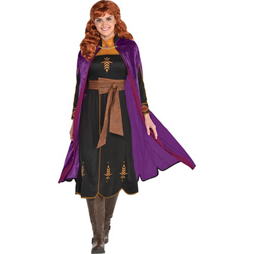 Adult Act 2 Anna Costume - Frozen 2