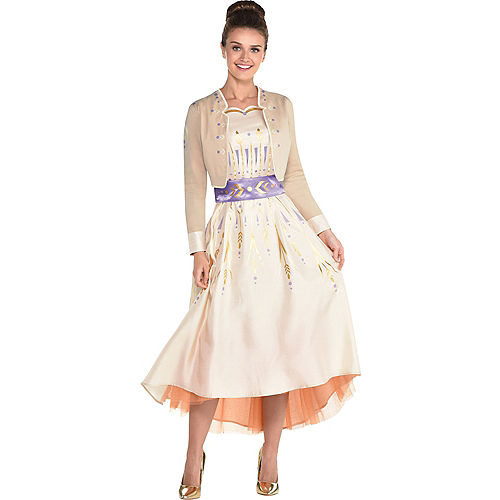 Adult Act 1 Anna Costume - Frozen 2