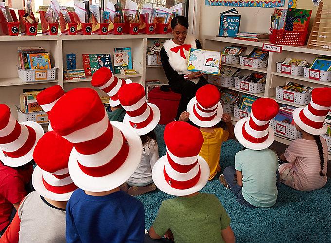 Dr. Seuss Reading Class Party Ideas