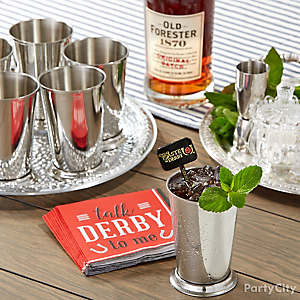 Easy Mint Julep Idea