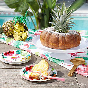 Pineapple Pound Cake Idea